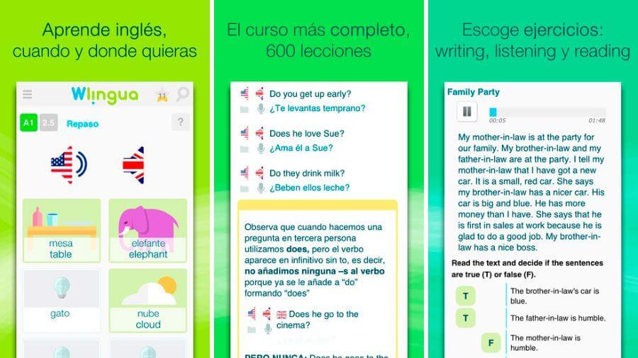 Apprenez l'anglais avec Wilingua GRATUIT