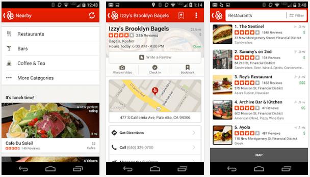 Información restaurante en tu móvil